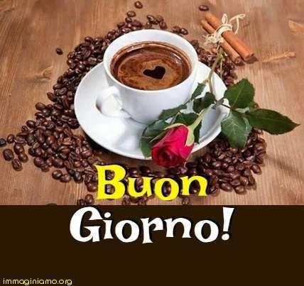 Buongiorno, caffè
