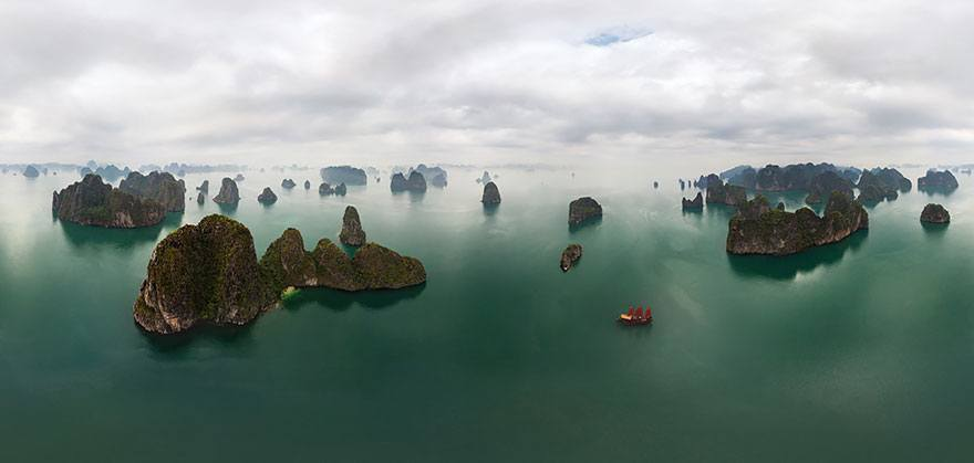 Golfo del Tonchino, Baia Halong Bay