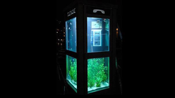 acquario a cabina