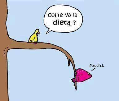 Come va la dieta?