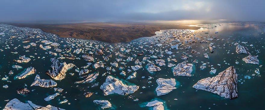 Lagune di ghiaccio, Islanda