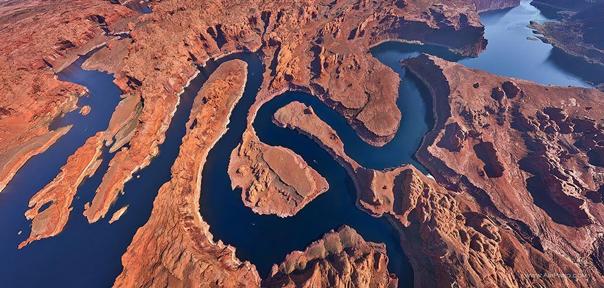 Laghi artificiali Arizona-Uthah - USA