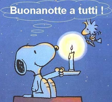 immagini Buonanotte Snoopy