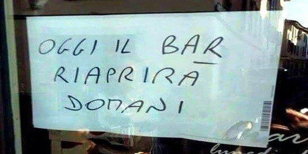 Scritte bar