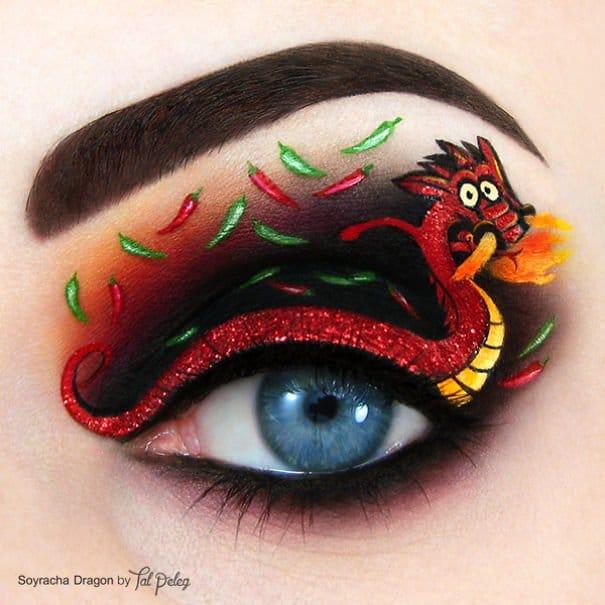 dragoe sull'occhio