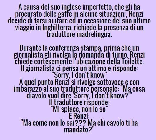 immagini divertenti Renzi