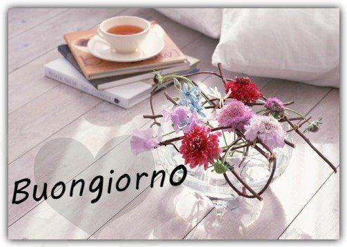 Buongiorno con fiori for Buongiorno o buon giorno immagini