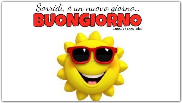 Immagini buongiorno da ridere sole sorriso for Immagini sole da colorare