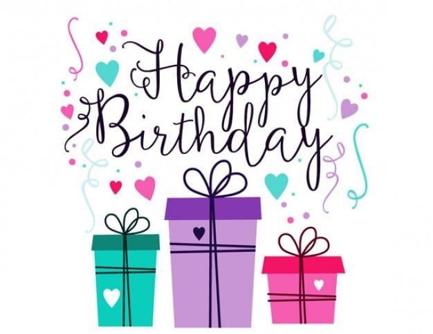 Buon compleanno - Happy birthday