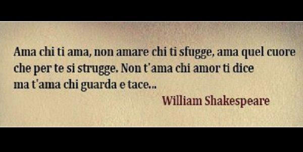 Popolare Citazioni William Shakespeare | immaginiamo.org CO06