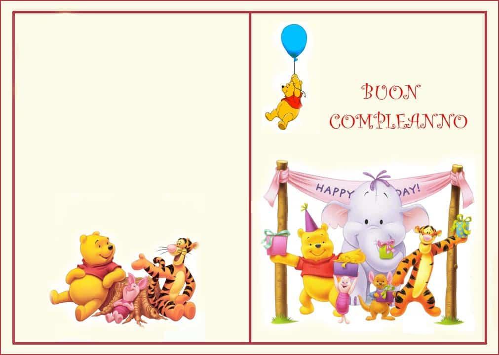 cartoline buon compleanno