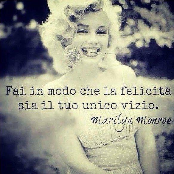 Frasi sulla felicità Marilyn Monroe