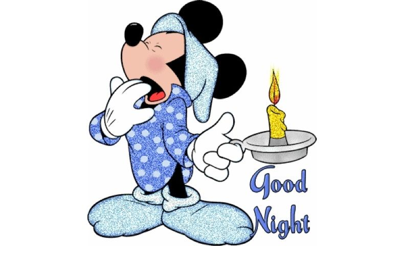 Good night Mickey Mouse