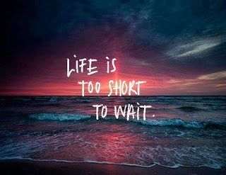 Frasi In Inglese Life Is To Short To Wait Immaginiamo Org