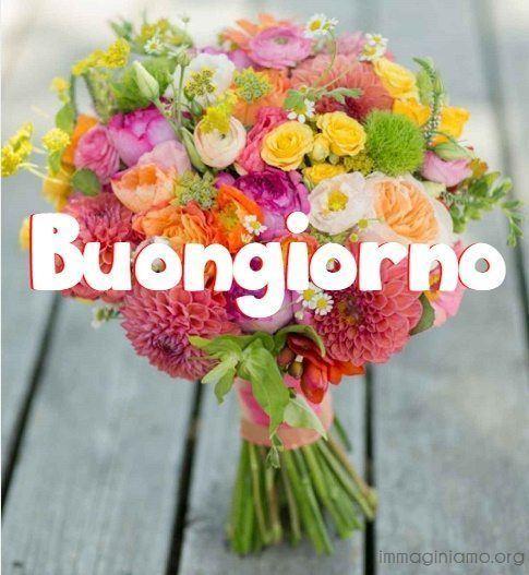 boquet fiori buongiorno
