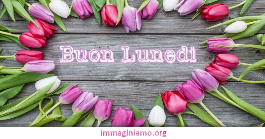 Ben noto Buon Lunedì cuore con fiori | immaginiamo.org PI07