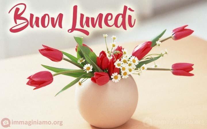 Immagini Buon lunedì fiori