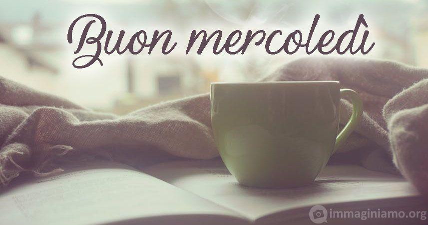 buongiorno buon mercoledì caffè