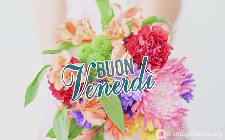 Immagini buon venerdì fiori colorati
