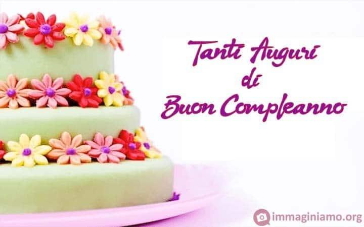 I auguri buon compleanno