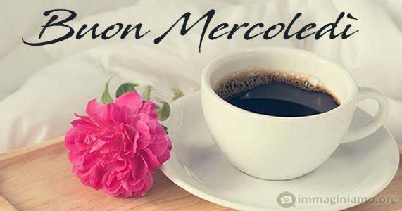 Buon mercoledi - caffè rosa