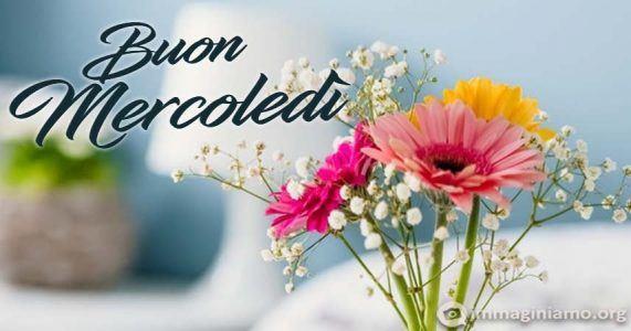 mercoledi con fiori