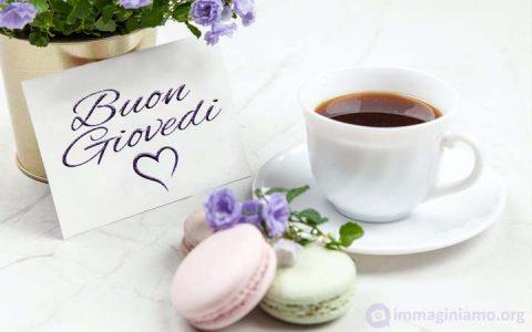 Augurare un buon giovedì con una colazione speciale