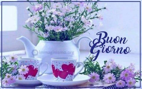 Nuove immagini buongiorno con fiori